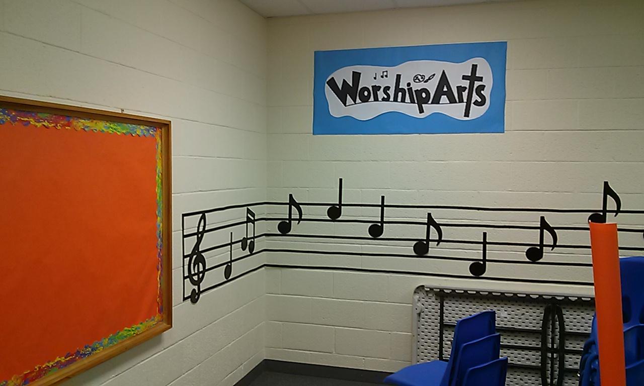 WorshipArts room